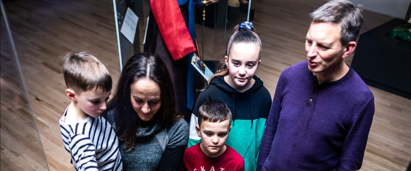 Early Doors for Autism Family Photo