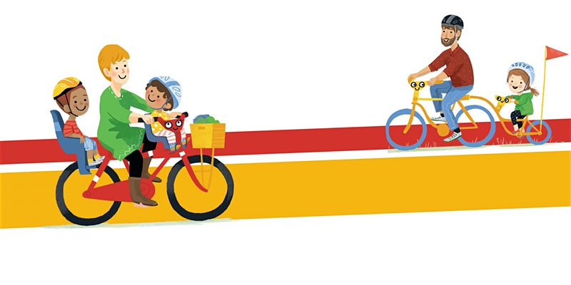 Cycling Illustration