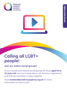 NAS LGBT+ Group Poster