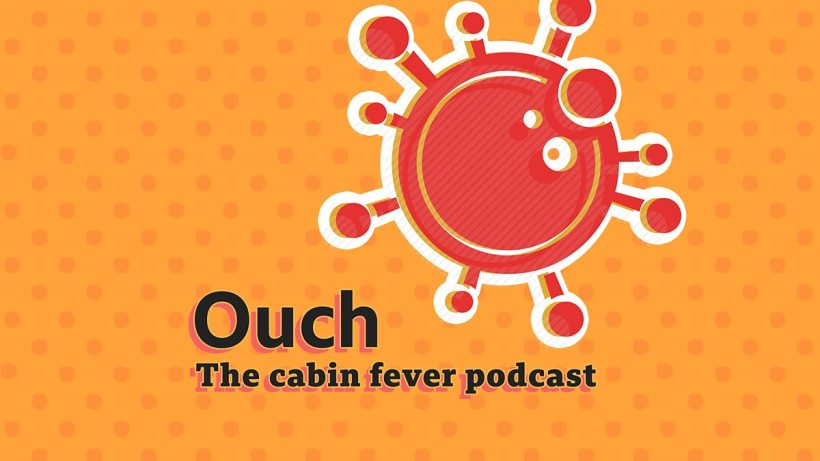 The Cabin Fever Podcast Logo